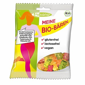 Bio Fit for Fun Fitnessbären - fructosefrei 100g