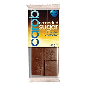 Carob Confection Schokolade 45g