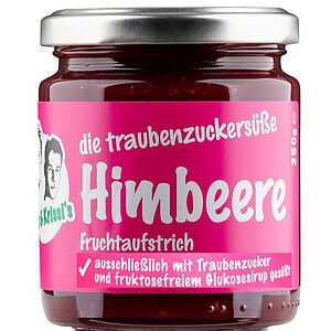 Himbeere Fruchtaufstrich - fructosearm 220g