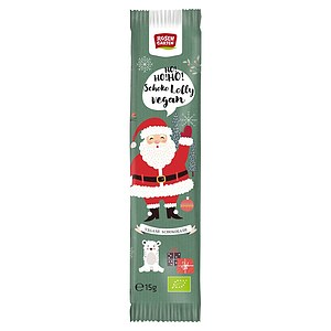 Bio Schoko Lolly Nikolaus vegan 15g