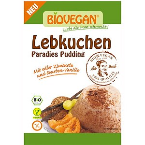 Bio Lebkuchen Paradies Pudding 38g