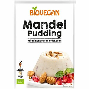 Bio Mandel Paradies Pudding 49g