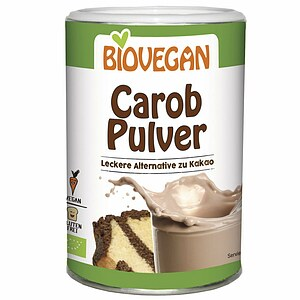 Bio Carob Pulver - Alternative zu Kakao 200g