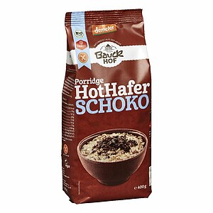 Bio Hot Hafer Schoko Haferbrei 400g