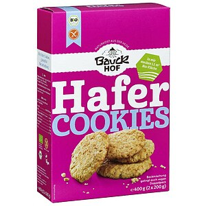 Glutenfreie Bio Hafer Cookie Backmischung 400g