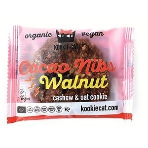 Bio Kakaonibs Walnuss Cookie 50g