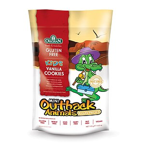 Outback Animals Vanilla Cookies Fun Packs 175g