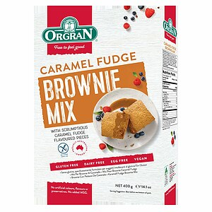 Karamell Fugde Brownie Mix 400g