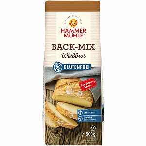 Back-Mix Weißbrot 500g