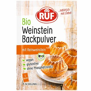 Bio Weinstein Backpulver 3x20g
