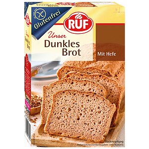 Backmischung dunkles Brot mit Hefe 457g