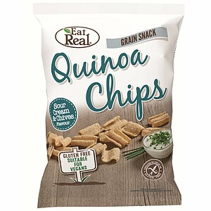 Quinoa Chips Sour Cream & Schnittlauch 80g