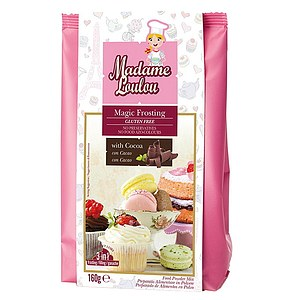 Magic Frosting Mix für Dekorcreme Kakao 160g
