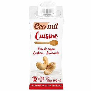 Bio Cashew Cuisine Sahne-Alternative zuckerfrei 200ml