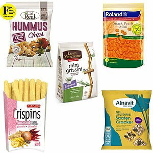 Glutenfreies Snackpaket