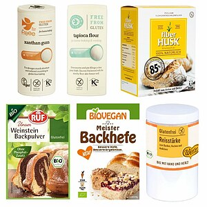 Glutenfreies Backhelfer Must-Have Paket