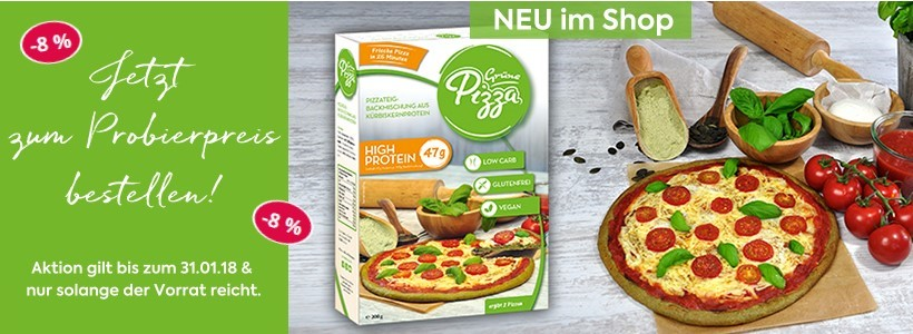 glutenfreie Low Carb Pizza bei FoodOase bestellen